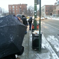 Photo taken at Bolt Bus Baltimore Stop by Carl V. on 1/25/2013
