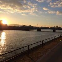 Photo taken at 南千田橋 by Tanitatsu on 12/2/2013