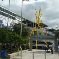 Photo taken at Ford Thunder Alley - West Plaza, Tampa Bay Times Forum by Shock S. on 1/13/2017