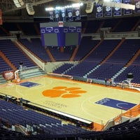 Photo taken at Littlejohn Coliseum by Robert M. on 2/7/2013