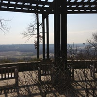 Photo taken at Ault Park by Holly M. on 3/29/2013