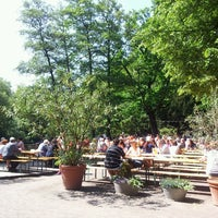 Photo taken at Café am Neuen See by Stephan F. on 5/19/2013