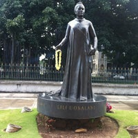 Photo taken at Queen Liliʻuokalani Statue by Nate R. on 3/31/2013
