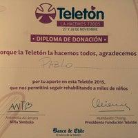 Photo taken at Banco de Chile by J. Pablo V. on 11/28/2015