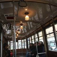 Photo taken at Linea Tram 23 by Giuliano F. on 2/4/2017
