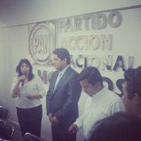 Photo taken at CDE PAN Morelos by Carlos G. on 6/6/2013