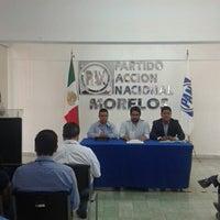 Photo taken at CDE PAN Morelos by Carlos G. on 5/11/2014