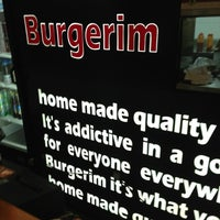Photo taken at Burgerim by Erez G. on 1/30/2013