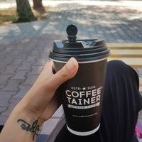 4/23/2018 tarihinde Serpil G.ziyaretçi tarafından Coffeetainer'de çekilen fotoğraf