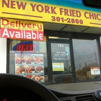 Photo taken at New York Fried Chicken by Duan S. on 10/29/2012