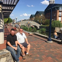 Photo taken at Downtown Frederick by Michael D. on 8/1/2015