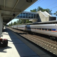 Photo taken at BWI Amtrak/MARC Rail Station (BWI) by Michael D. on 9/6/2013