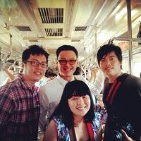 Photo taken at KRL Commuter Line Depok - Tanah Abang 7.10 by Citra P. on 2/16/2013