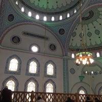 Photo taken at Hoca Ahmed Yesevi Camii by Ugur C. on 11/10/2017
