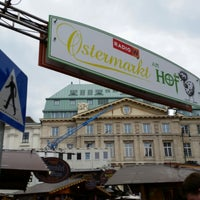 Photo taken at Ostermarkt am Hof by Michael M. on 4/13/2014