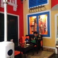 Photo taken at Zambo Café by Aisha M. on 3/29/2014