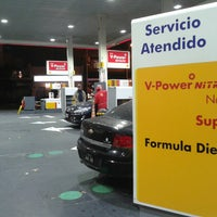 Photo taken at Shell by Sebastian A. on 7/21/2013