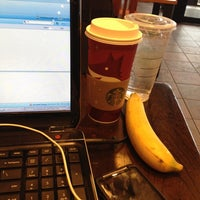 Photo taken at Starbucks by Adrianne S. on 11/8/2012