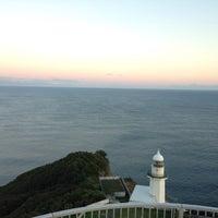 Photo taken at Chikiu-misaki Lighthouse by Takashi K. on 9/20/2015