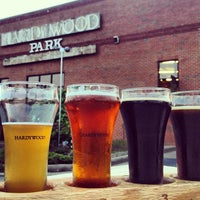 Photo taken at Hardywood Park Craft Brewery by Brian B. on 4/17/2013
