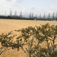 Photo taken at 郡山市営西部サッカー場 by せきずん on 3/19/2017