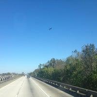 Photo taken at I-10 & Bayou Rd (LA-77) by Finish S. on 11/17/2012
