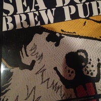 Photo taken at Sea Dog Brew Pub by Tom B. on 12/12/2012