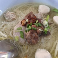 Photo taken at ลูกชิ้น อนามัย by RikkAte S. on 1/26/2017