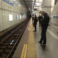 Photo taken at Levent Metro İstasyonu by Boris S. on 1/19/2013