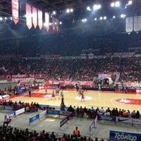 Photo taken at SEF - Peace & Friendship Stadium by Nikolas P. on 3/7/2013