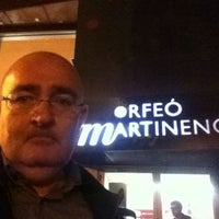 Photo taken at Orfeó Martinenc by Monti on 11/11/2013