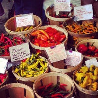 Photo taken at Grand Army Plaza Greenmarket by Nate B. on 9/22/2012