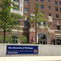 Photo taken at University of Michigan by Yuki N. on 5/16/2013
