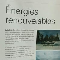 Photo taken at Volts Énergies by Geoffroi G. on 8/15/2014