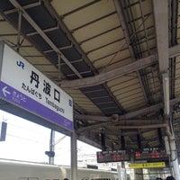 Photo taken at 丹波口駅 (Tambaguchi Sta.) by Yuriko I. on 8/2/2013