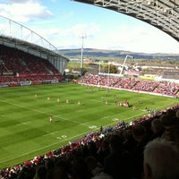 Photo taken at Thomond Park by Shane M. on 10/21/2012
