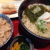 Photo taken at つるつる by hidekki on 4/23/2014
