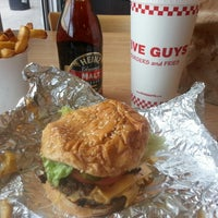 Photo taken at Five Guys by Chad P. on 2/14/2013
