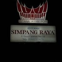 Photo taken at Restoran Simpang Raya by Saibun O. on 7/6/2014