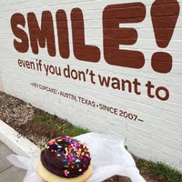 Photo taken at Hey Cupcake! by TC C. on 3/8/2013