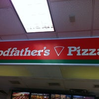 Photo taken at Hess Express Godfathers Pizza by Keven A. on 7/28/2013