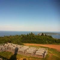 Photo taken at Sommet Mont Sainte Anne by Nicolas L. on 7/14/2013