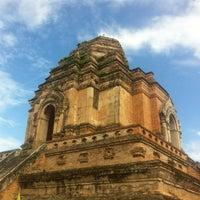 Photo taken at Wat Chedi Luang Varavihara by Joe L. on 7/15/2013