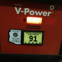 Photo taken at Shell by Ricky P. on 2/9/2013