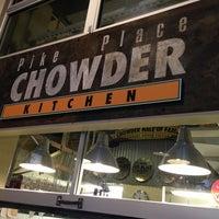 Foto tirada no(a) Pike Place Chowder por Ricky P. em 5/26/2013