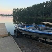Photo taken at Lake Tobosofkee by Ricky P. on 9/7/2017