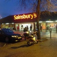 Photo taken at Sainsbury's by Filiz K. on 1/3/2016