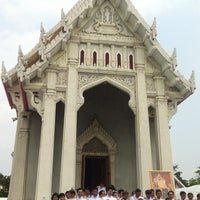 Photo taken at Wat Chonprathan Rangsarit by IamPex on 10/12/2014
