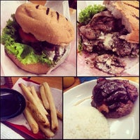 Photo taken at Big Better Burgers by Tanya Gayle A. on 2/14/2014