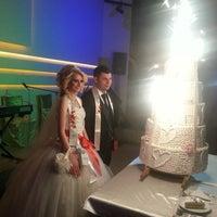Photo taken at Elegance Dugun Salonu by Caner C. on 1/9/2014